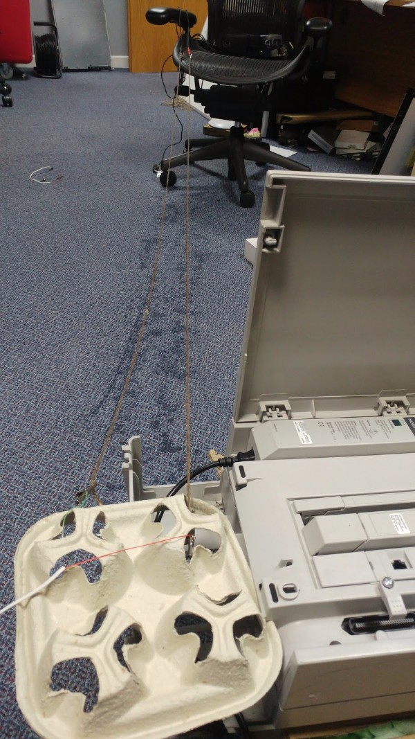 Wet String Used For Broadband