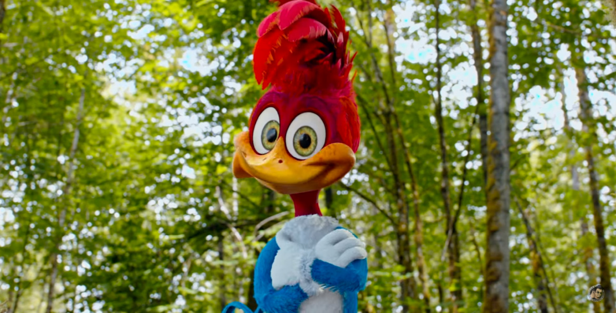 Woody Woodpecker is Beyond Annoying in Awful Trailer for Live-Action Movie