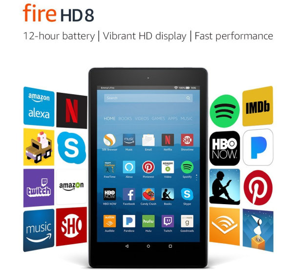 AMAZING DEAL: Get a Fire HD 8 Tablet for Just 49.99 Instead of 79.99 Today