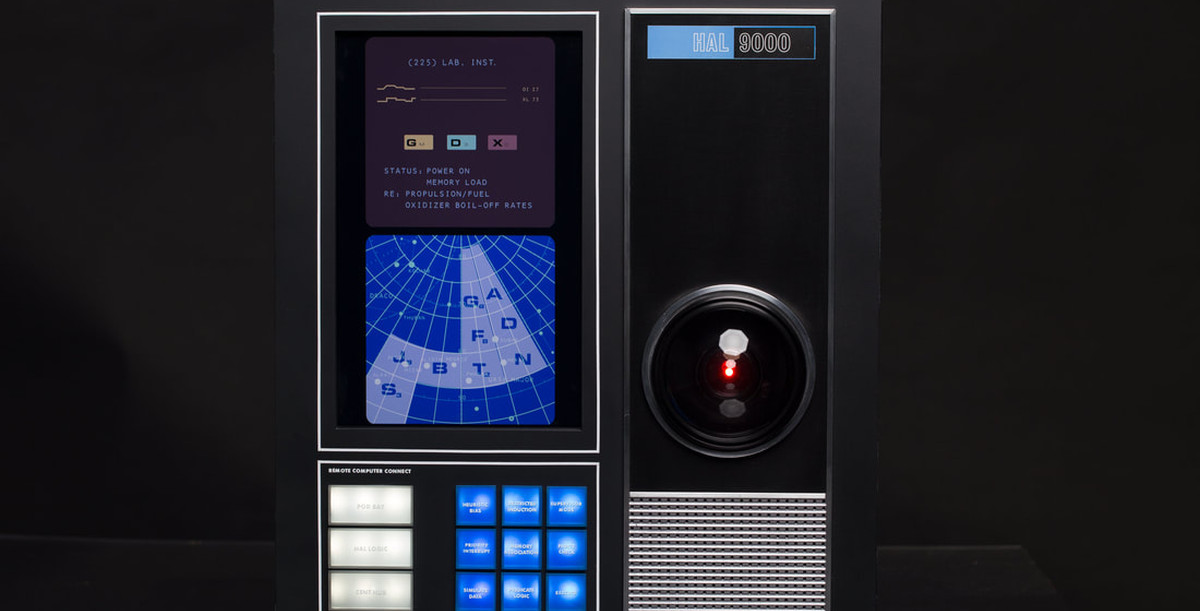 This Fully-Operational HAL 9000 Interactive Replica is Absolutely Perfect