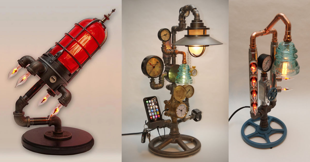 Steampunk Lamps