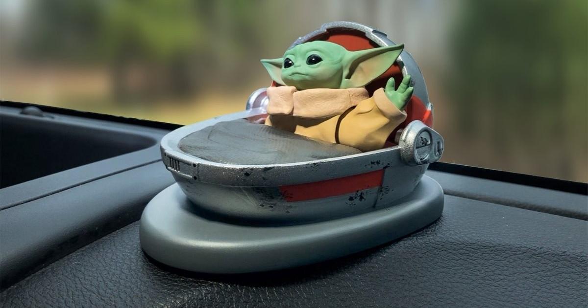 Baby Yoda Dashboard Waver