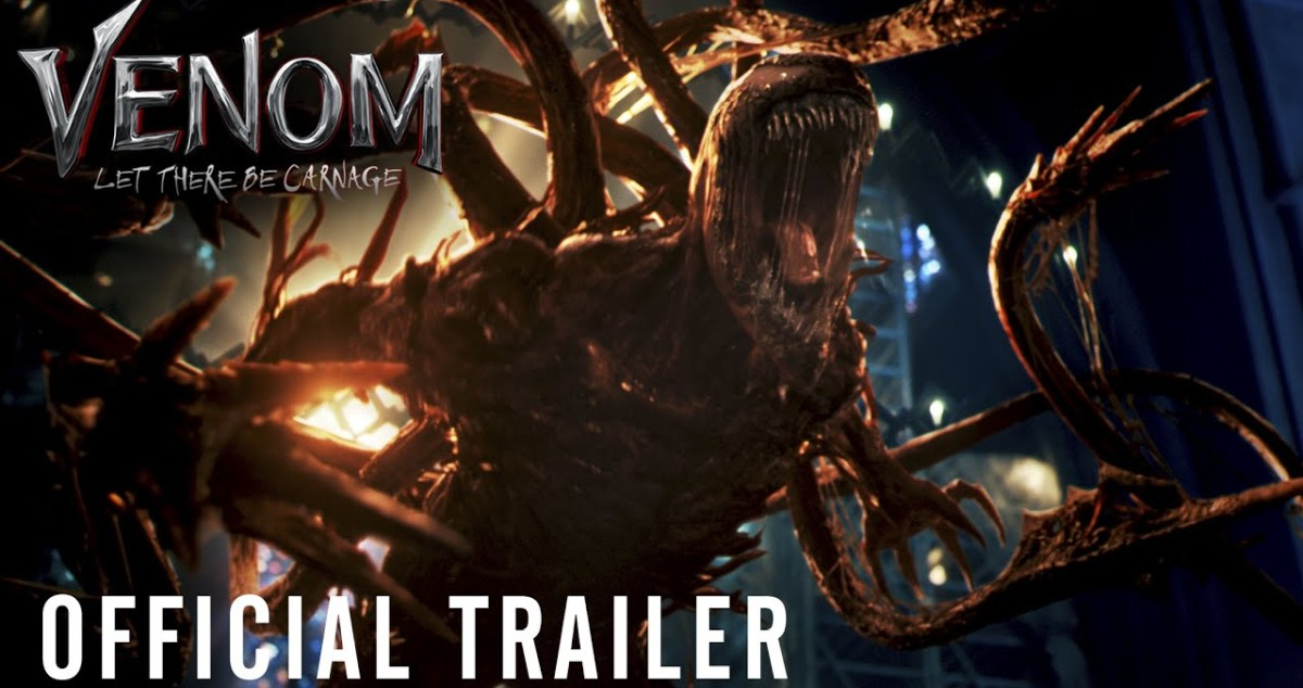 VENOM 2: LET THERE BE CARNAGE  First Official Trailer
